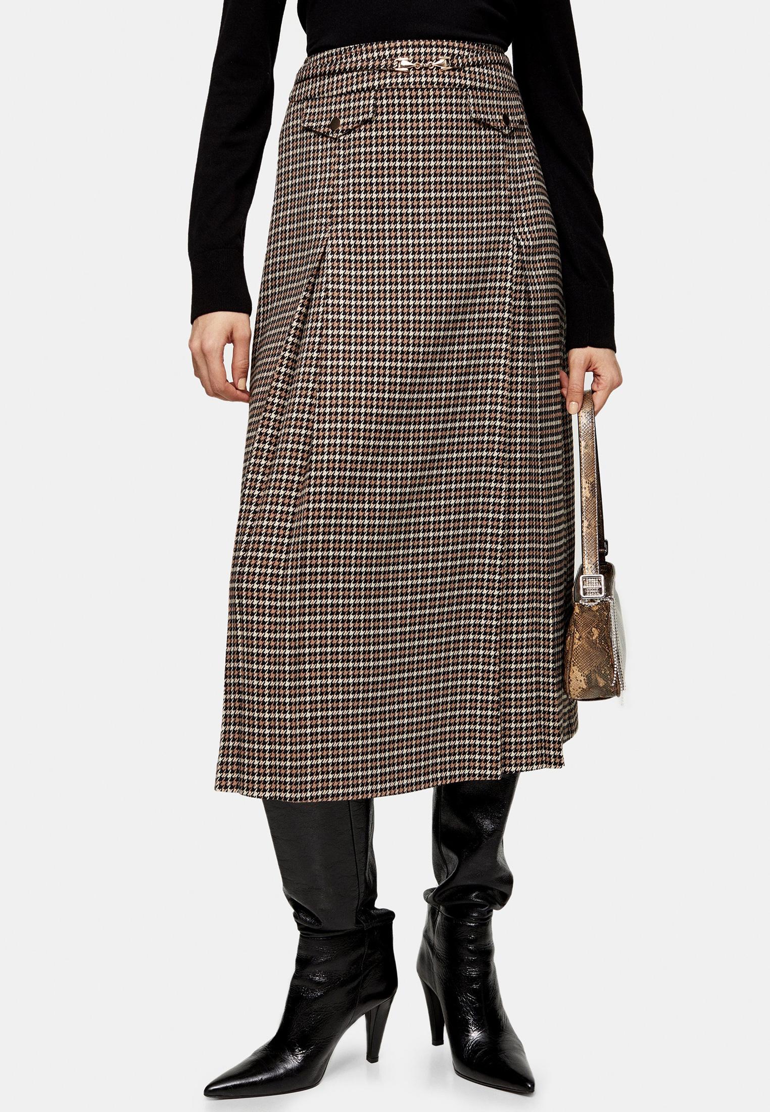 Широкая юбка Topshop (Топшоп) 27M04SCAM