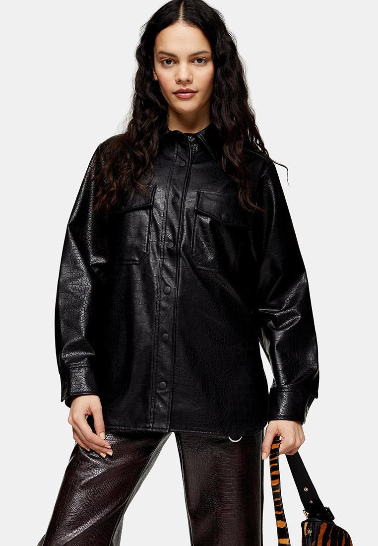 Женские рубашки с длинным рукавом Topshop (Топ Шоп) 11P05SBLK