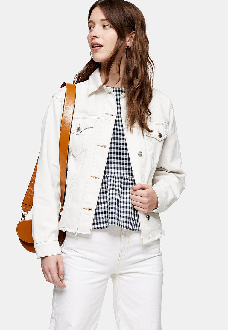 Джинсовая куртка Topshop (Топ Шоп) 05J97RWHT