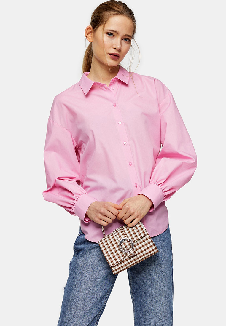 Женские рубашки с длинным рукавом Topshop (Топ Шоп) 13W03SPNK