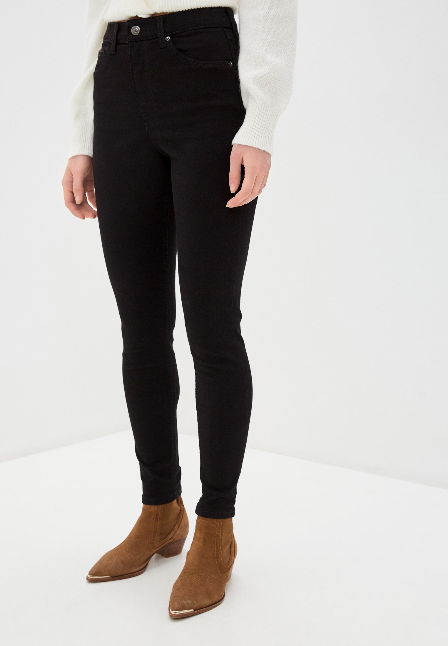 Зауженные джинсы Topshop (Топ Шоп) 02W02SBLK