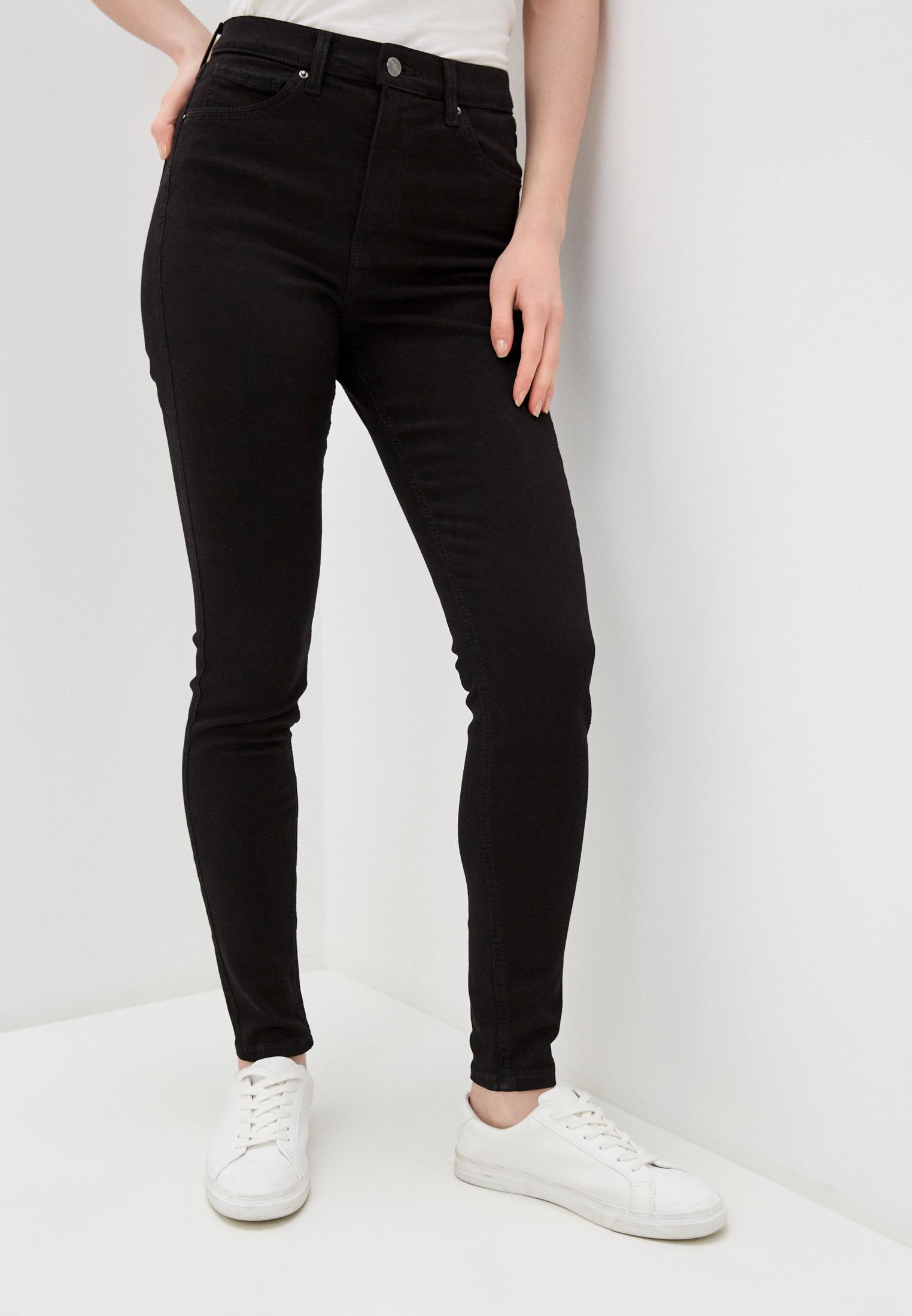 Зауженные джинсы Topshop (Топ Шоп) 02W03SBLK