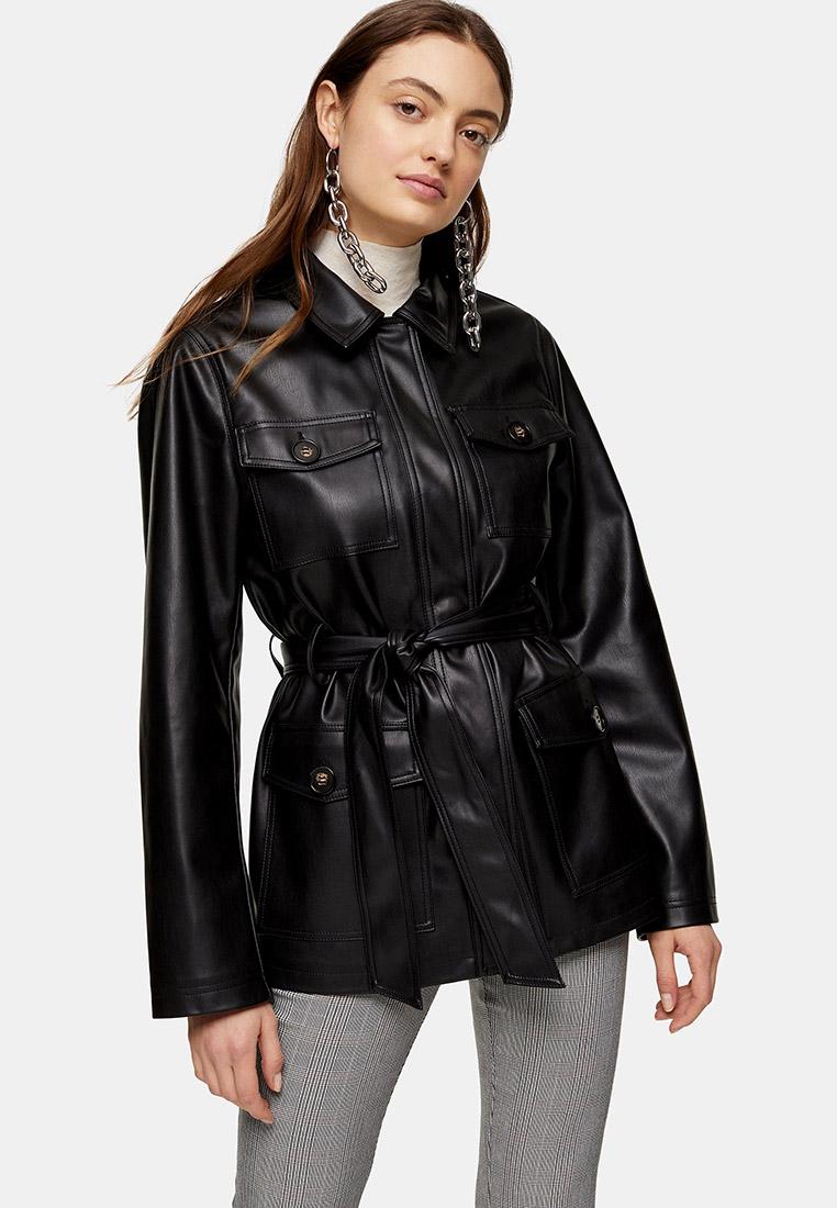 Кожаная куртка Topshop (Топ Шоп) 11P06SBLK