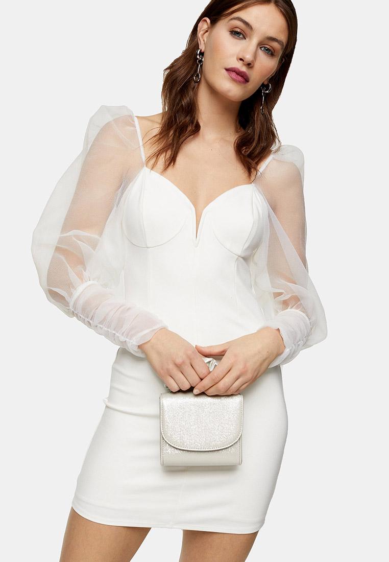 Вечернее / коктейльное платье Topshop (Топ Шоп) 10A02SIVR