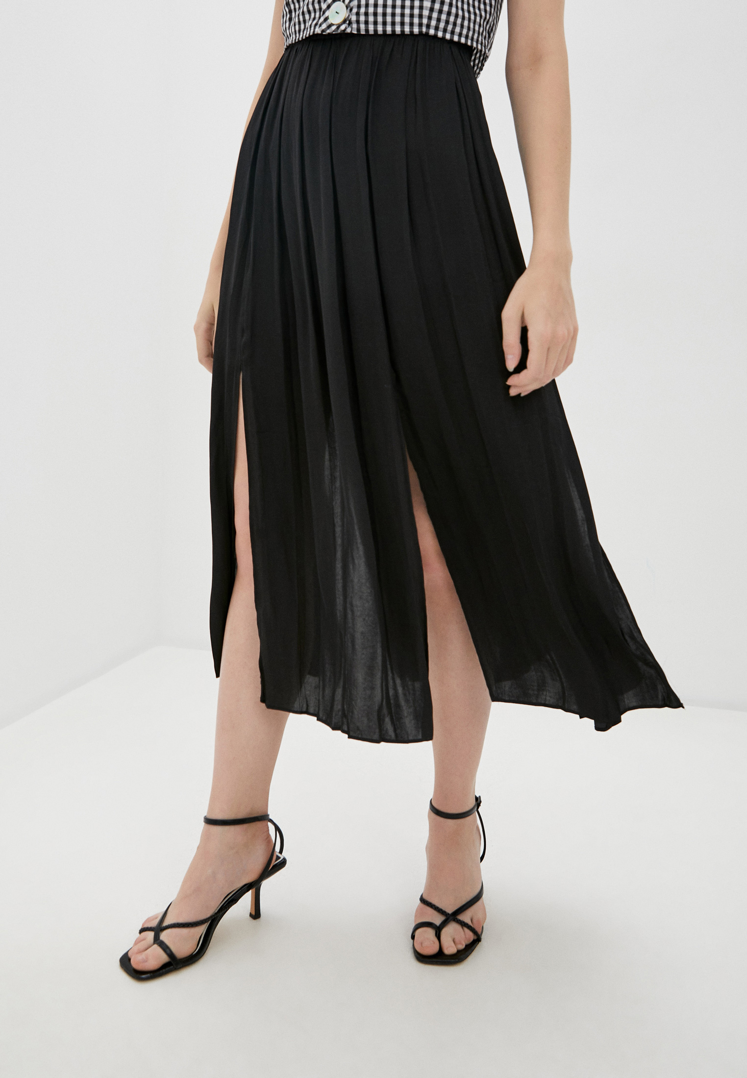 Широкая юбка Topshop (Топ Шоп) 45I01SBLK