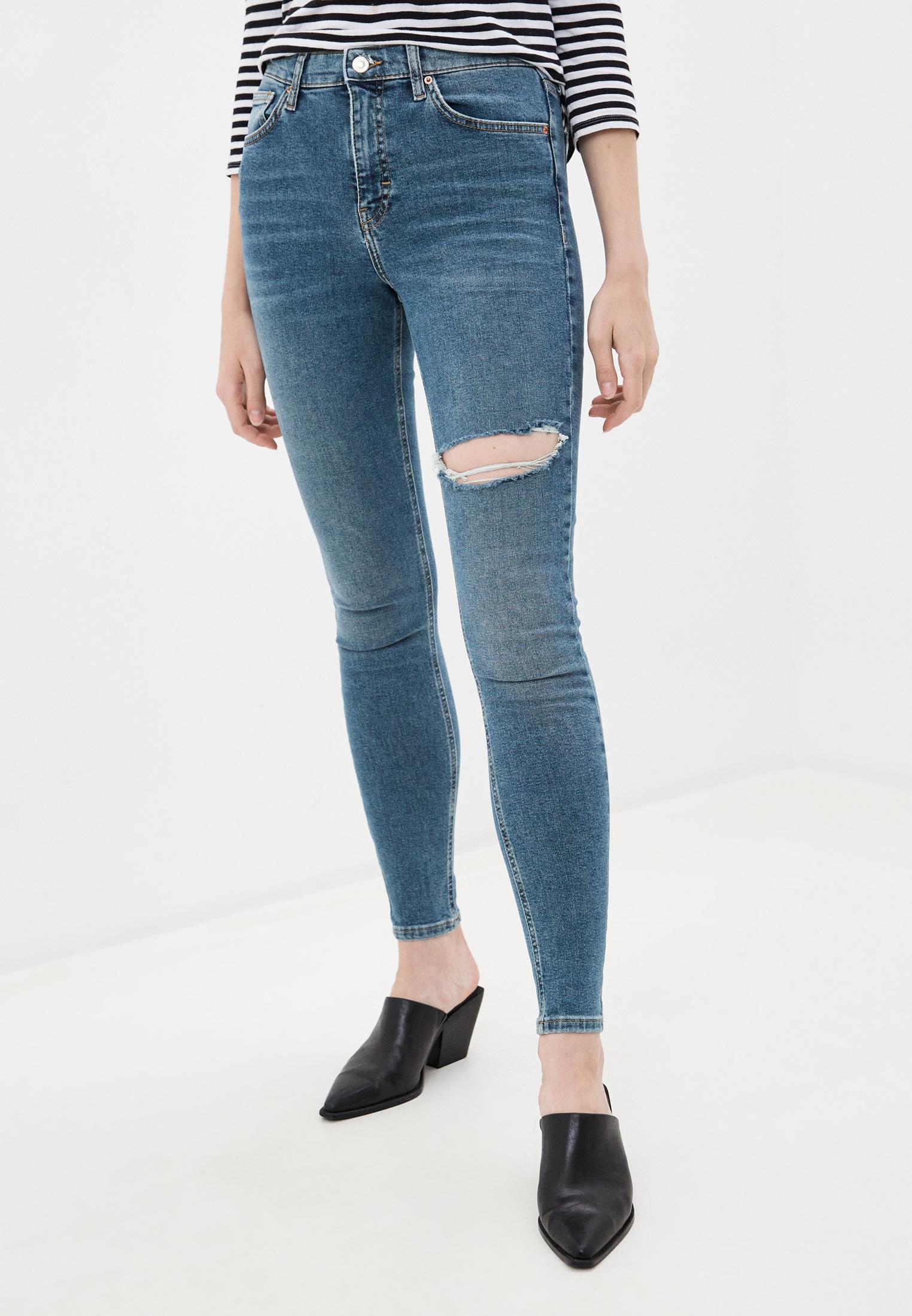 Зауженные джинсы Topshop (Топ Шоп) 02F10SGRN