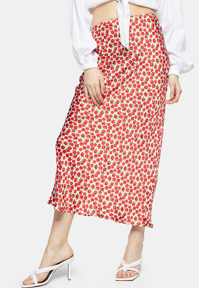 Прямая юбка Topshop (Топ Шоп) 27N63SRED