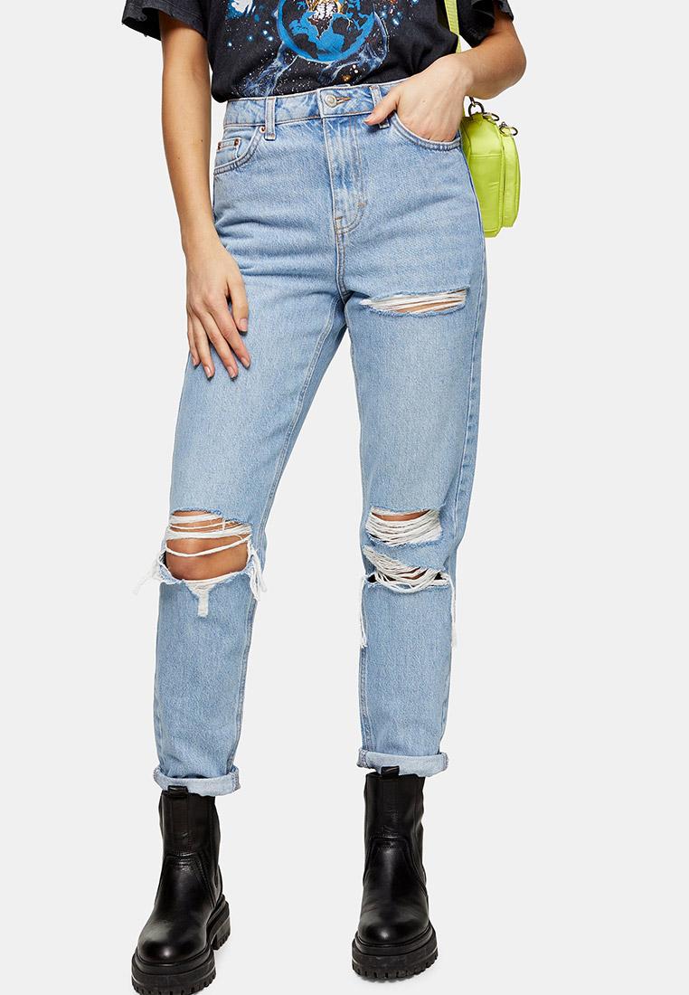 Зауженные джинсы Topshop (Топ Шоп) 02W51SBLC