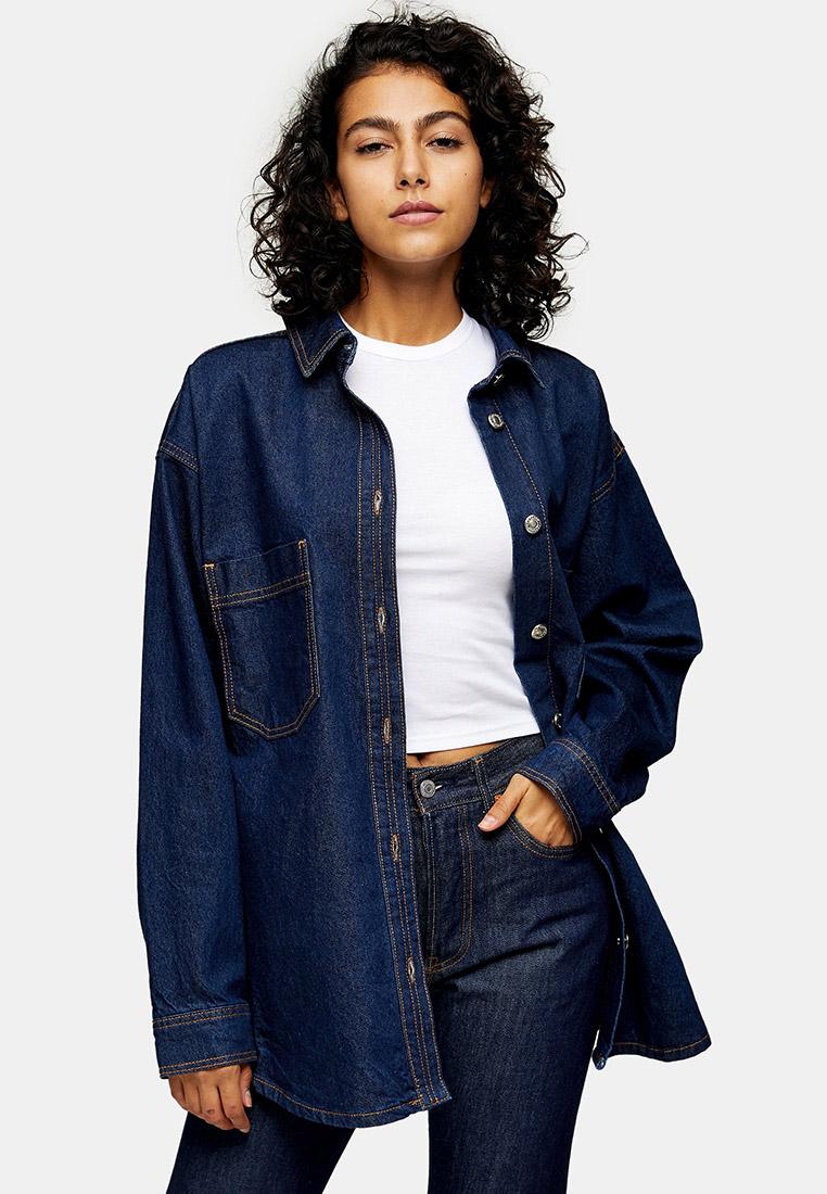 Женские джинсовые рубашки Topshop (Топшоп) 05J53TIND