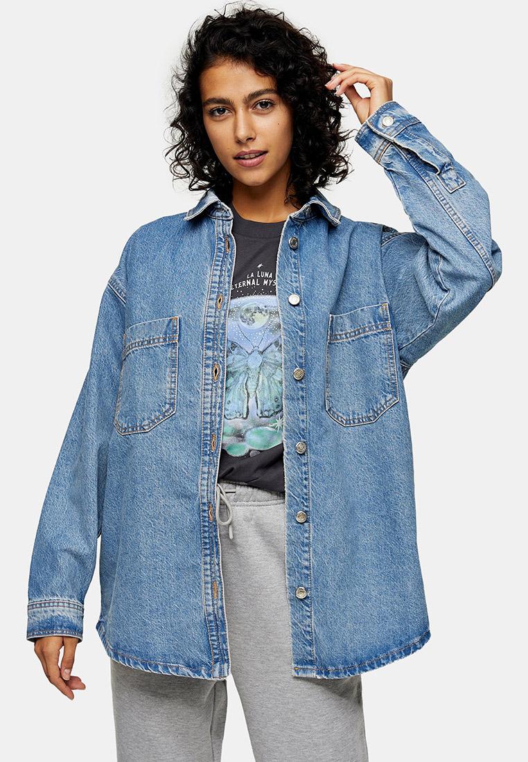 Женские джинсовые рубашки Topshop (Топшоп) 05J52TMDT