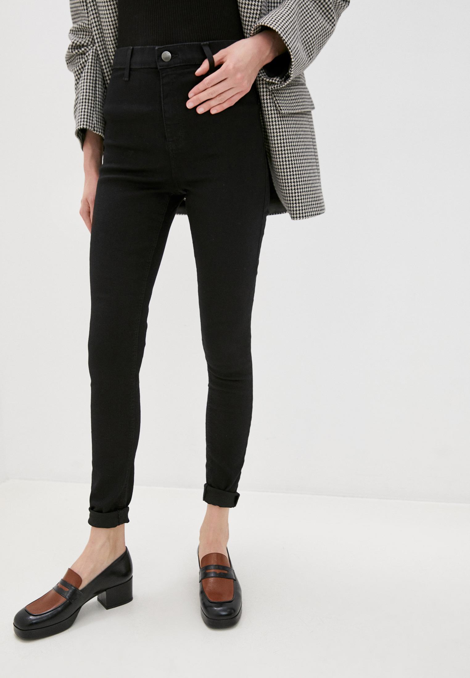 Зауженные джинсы Topshop (Топ Шоп) 02W06SBLK