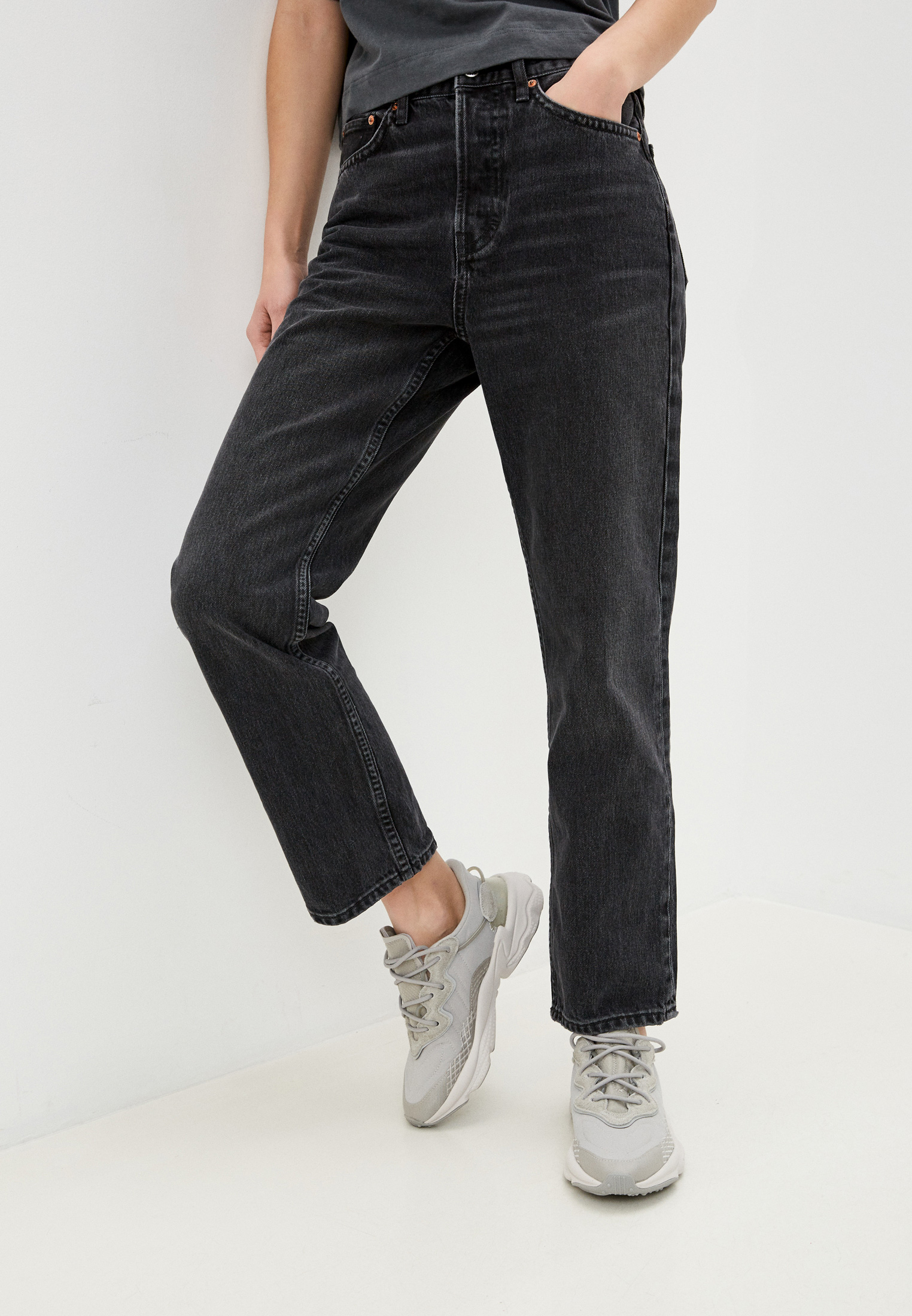 Прямые джинсы Topshop (Топ Шоп) 02D04SWBK