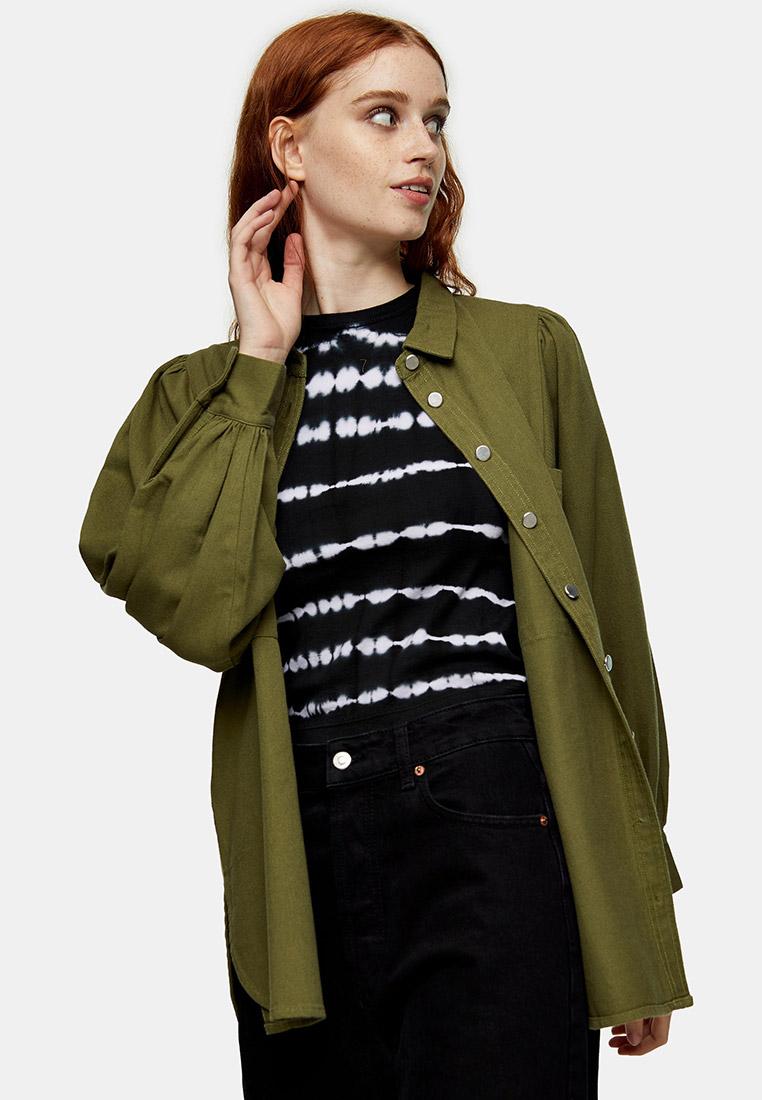 Женские рубашки с длинным рукавом Topshop (Топ Шоп) 13O14TOLV