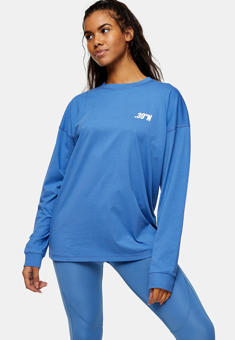 Спортивная футболка Topshop (Топ Шоп) 16S16TIBL