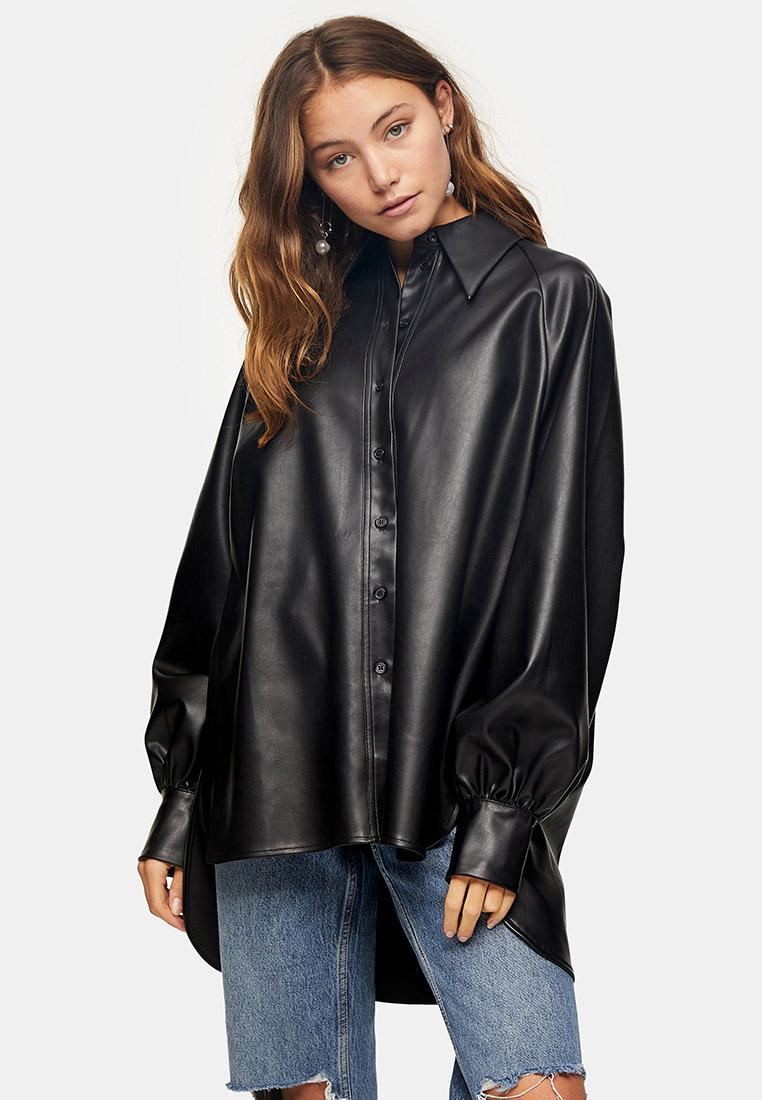 Женские рубашки с длинным рукавом Topshop (Топ Шоп) 13O44TBLK
