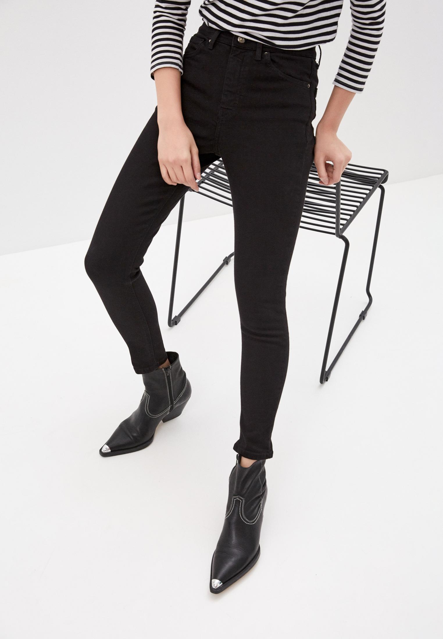 Зауженные джинсы Topshop (Топ Шоп) 02K04SBLK