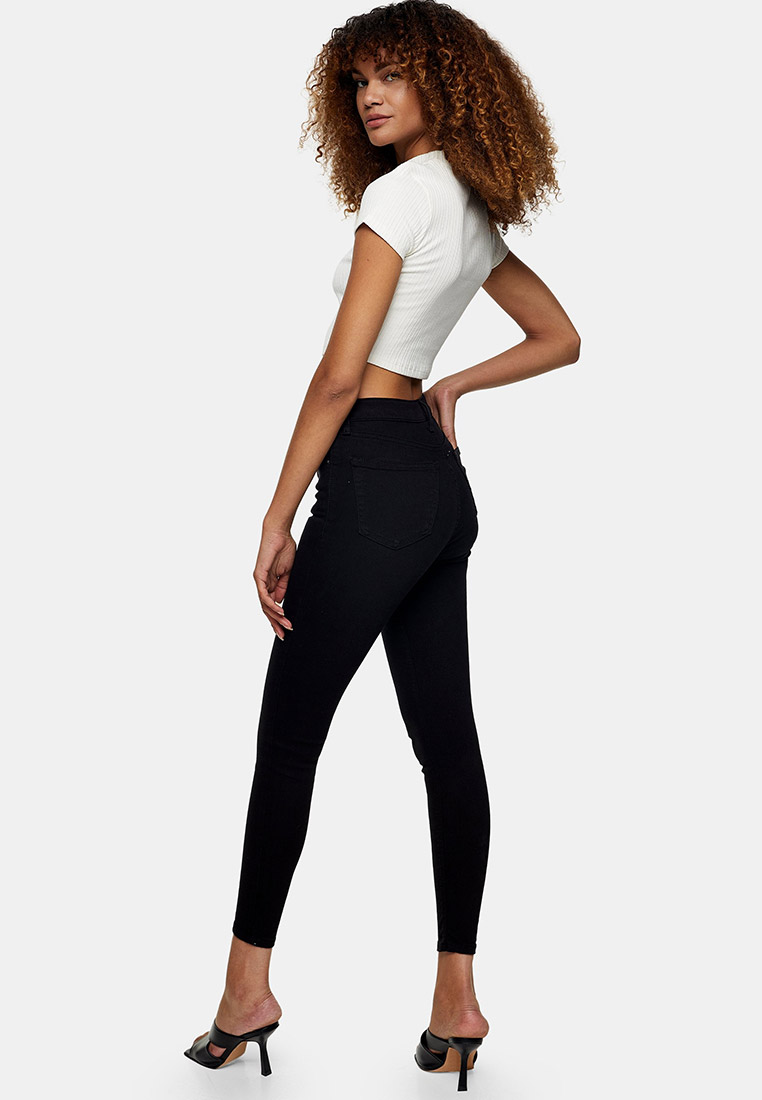 Зауженные джинсы Topshop (Топ Шоп) 02K05SBLK: изображение 3