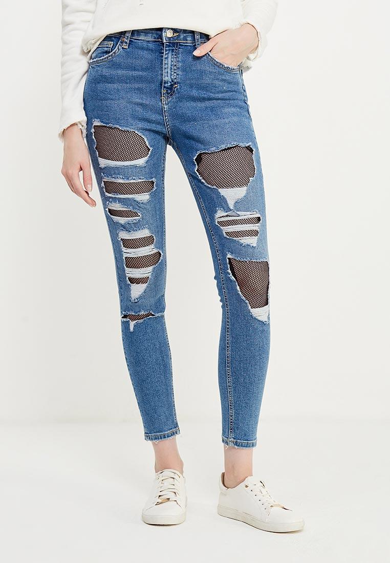 Зауженные джинсы Topshop (Топ Шоп) 02K43LMDT