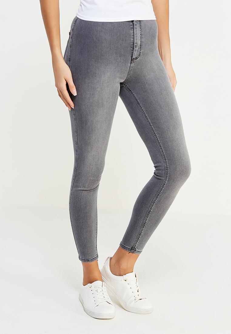 Зауженные джинсы Topshop (Топ Шоп) 02J05MGRY: изображение 1