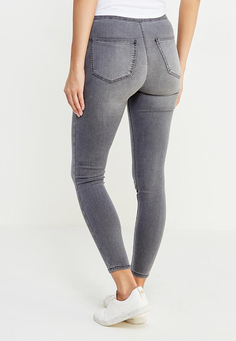 Зауженные джинсы Topshop (Топ Шоп) 02J05MGRY: изображение 3