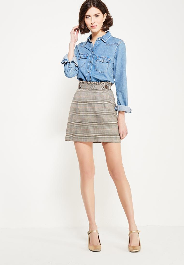 Прямая юбка Topshop (Топ Шоп) 27M15MSTN: изображение 2
