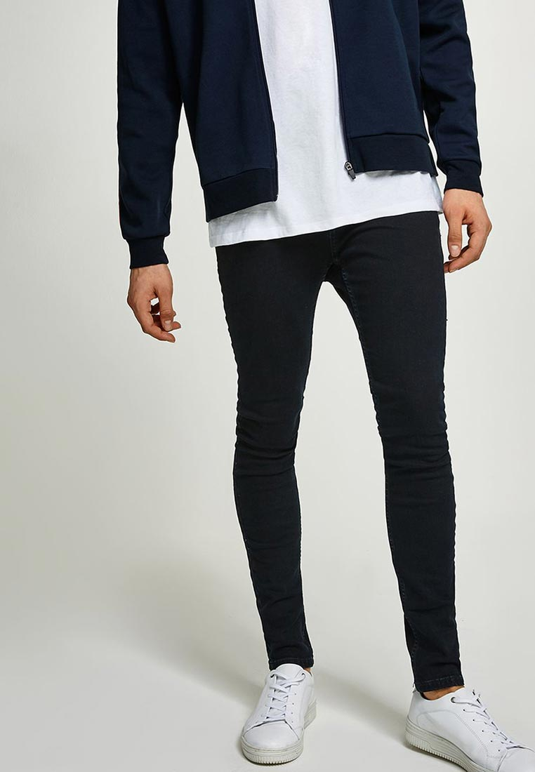 Зауженные джинсы Topman (Топмэн) 69F08PWBL: изображение 4