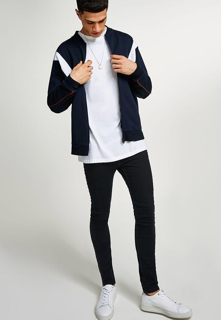 Зауженные джинсы Topman (Топмэн) 69F08PWBL: изображение 5