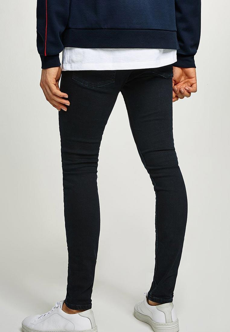 Зауженные джинсы Topman (Топмэн) 69F08PWBL: изображение 6