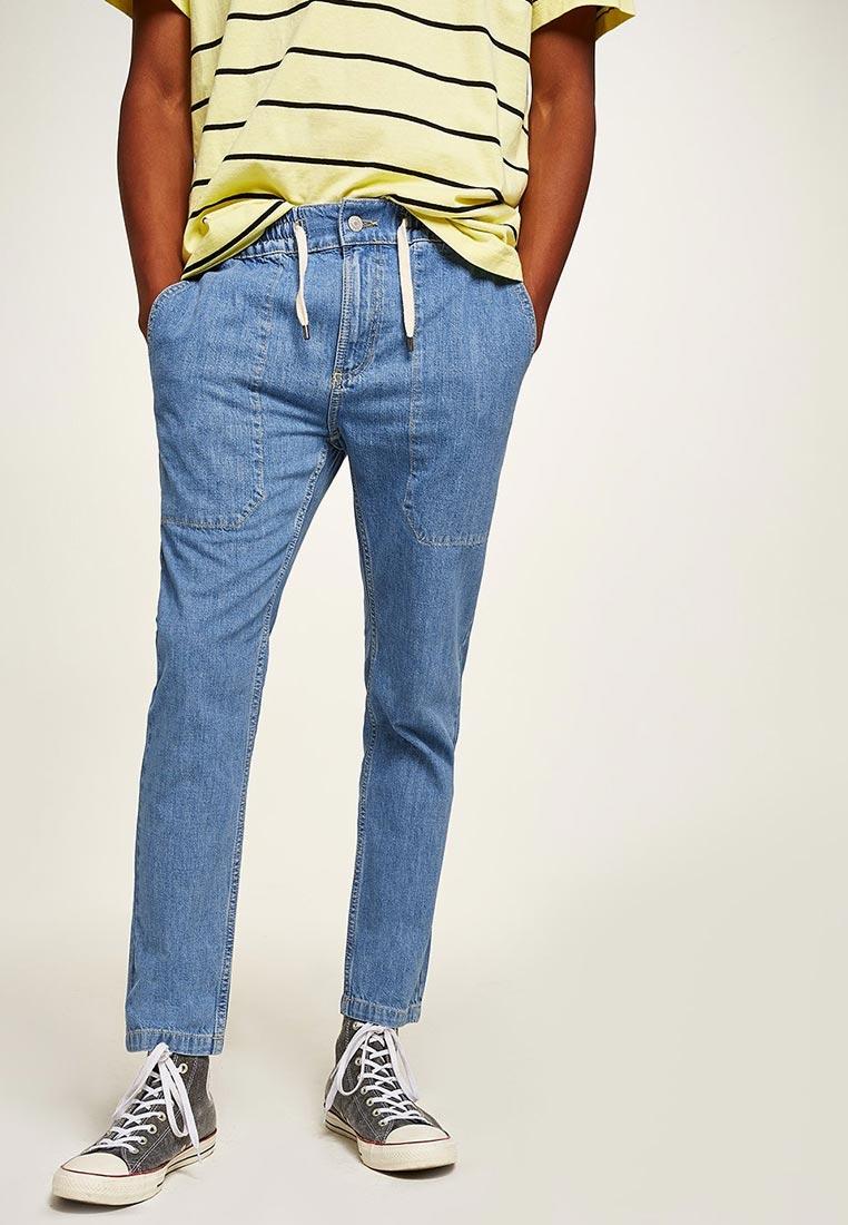 Зауженные джинсы Topman (Топмэн) 69F06QLST
