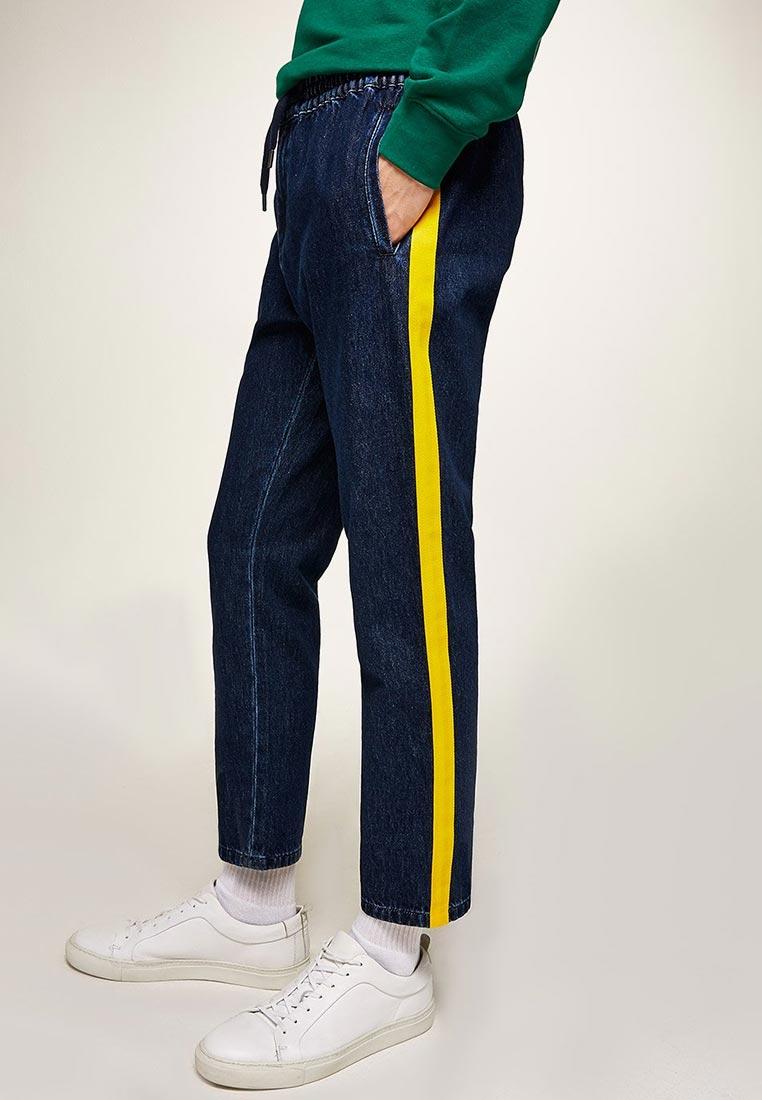 Зауженные джинсы Topman (Топмэн) 69F07QMST