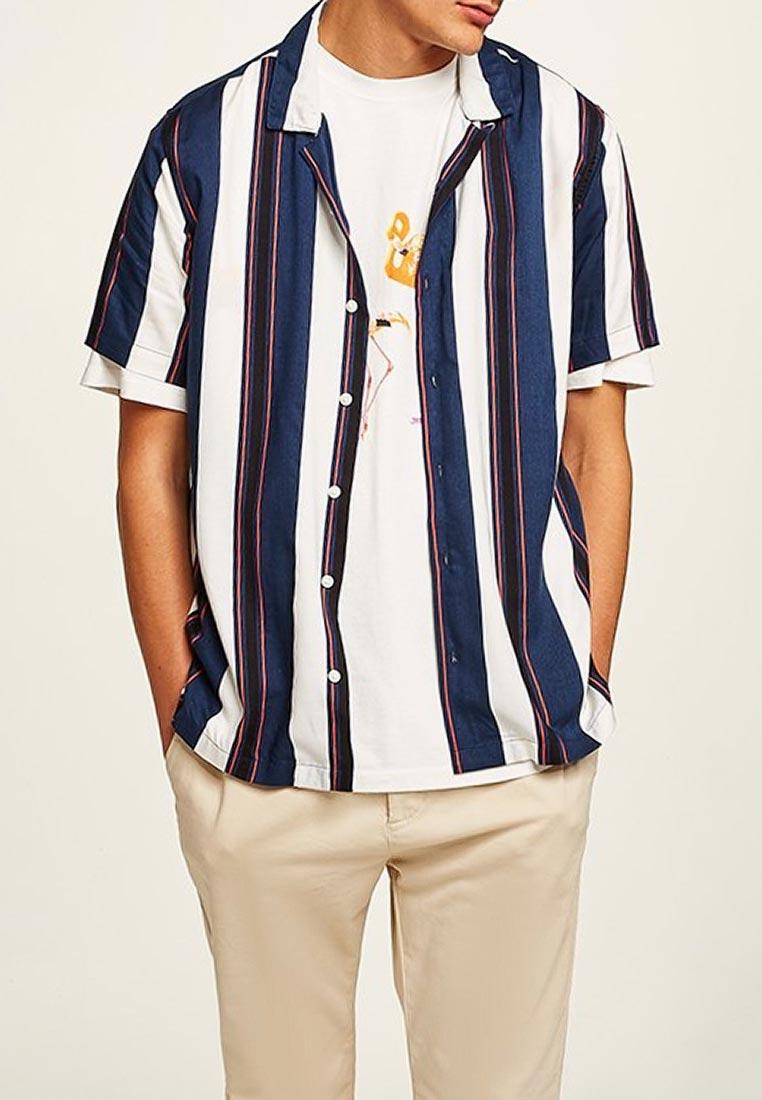 Рубашка с коротким рукавом Topman (Топмэн) 83D34PMUL