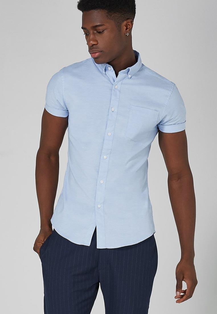 Рубашка с коротким рукавом Topman (Топмэн) 83P16OBLE