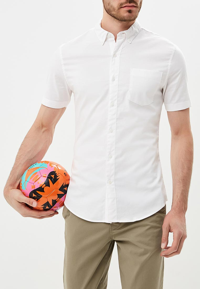 Рубашка с длинным рукавом Topman (Топмэн) 83P16OWHT