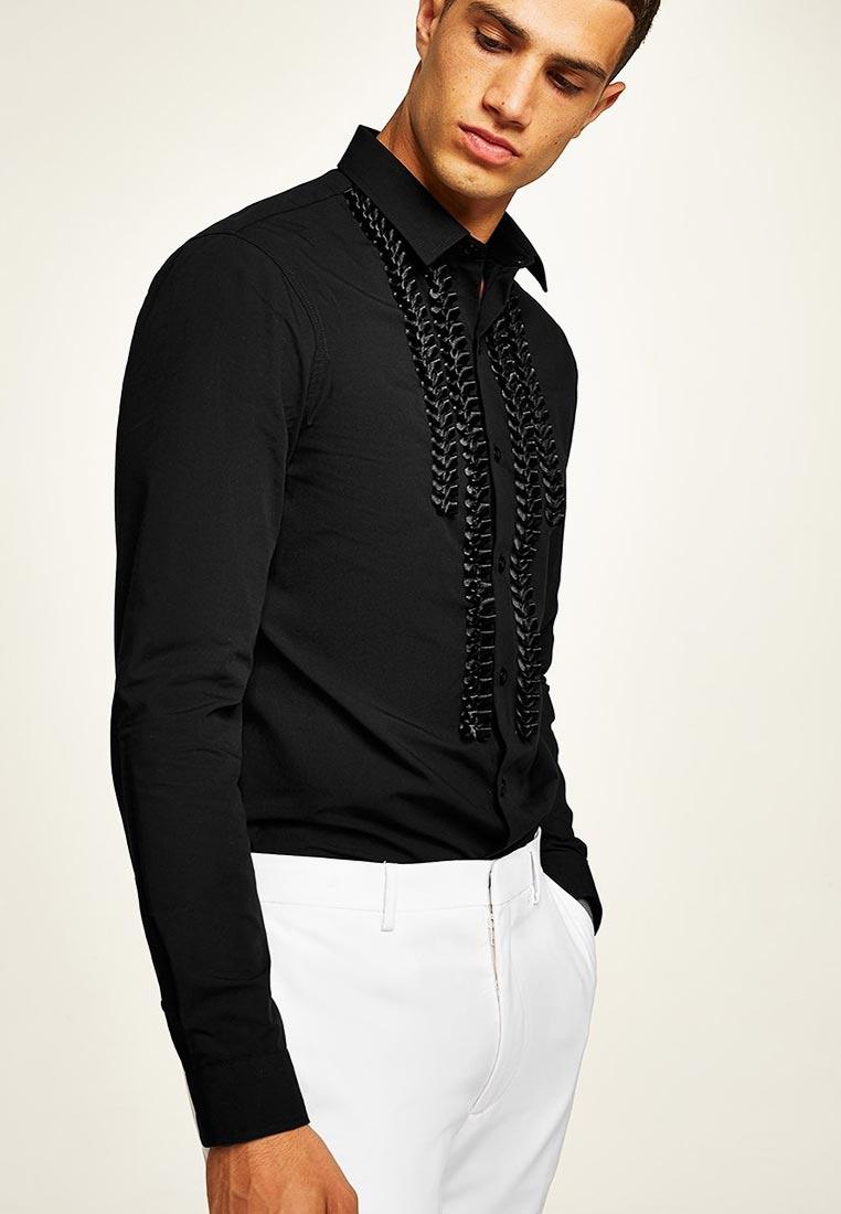 Рубашка с длинным рукавом Topman (Топмэн) 84C46OBLK