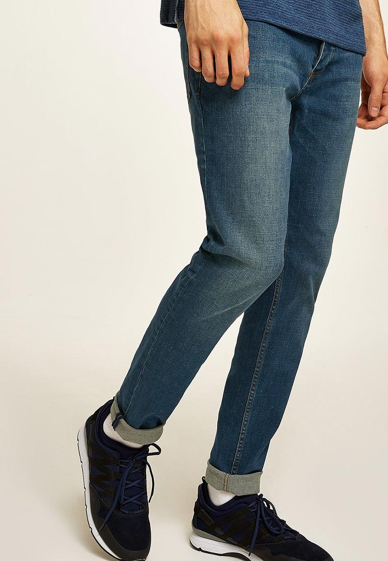 Зауженные джинсы Topman (Топмэн) 69F16QMST