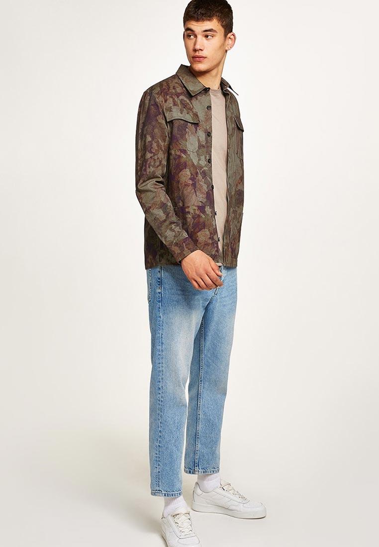 Рубашка с длинным рукавом Topman (Топмэн) 83U17OKHA
