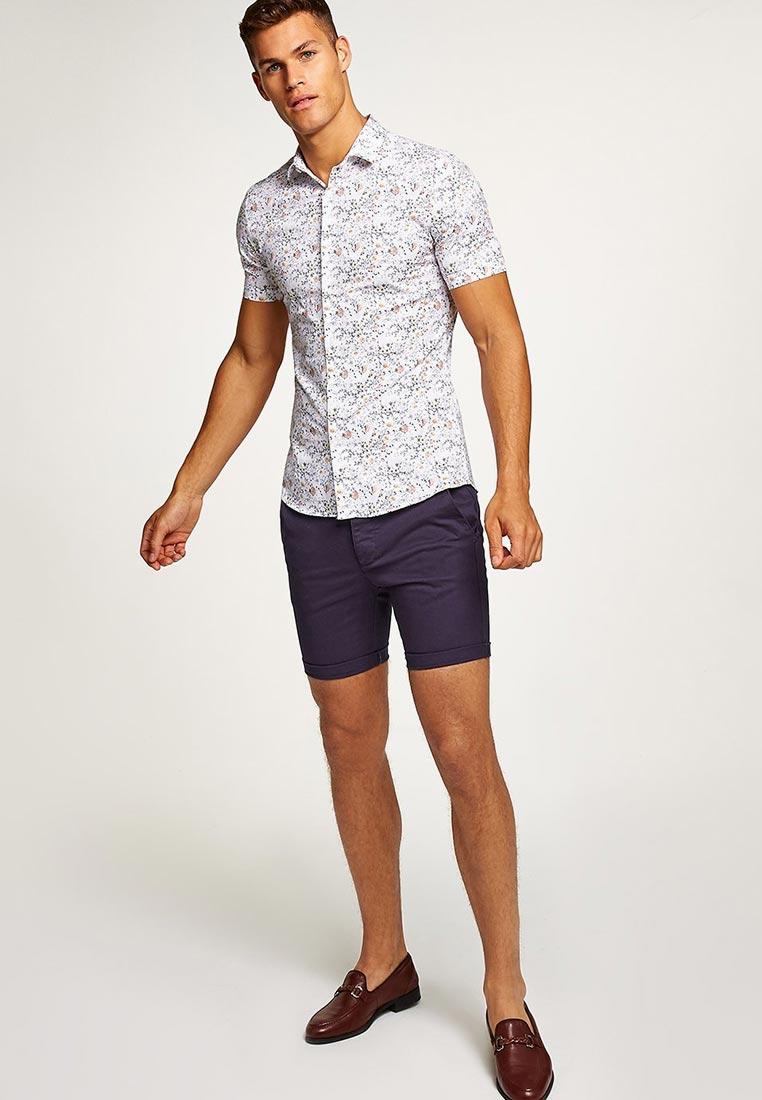 Рубашка с длинным рукавом Topman (Топмэн) 84B10OWHT