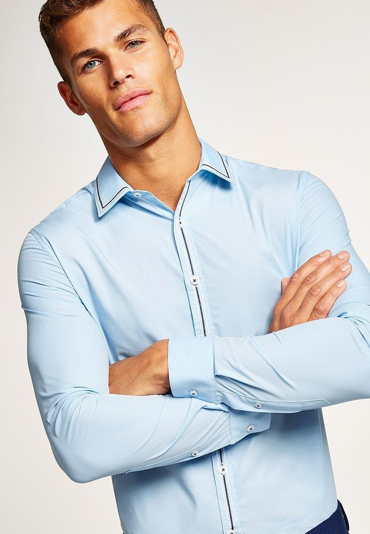 Рубашка с длинным рукавом Topman (Топмэн) 84L26PLBL