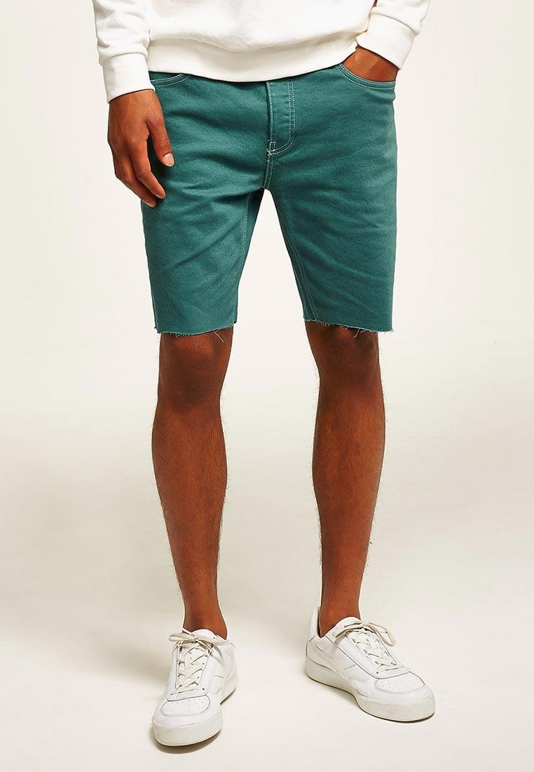 Мужские джинсовые шорты Topman (Топмэн) 33C23PGRN