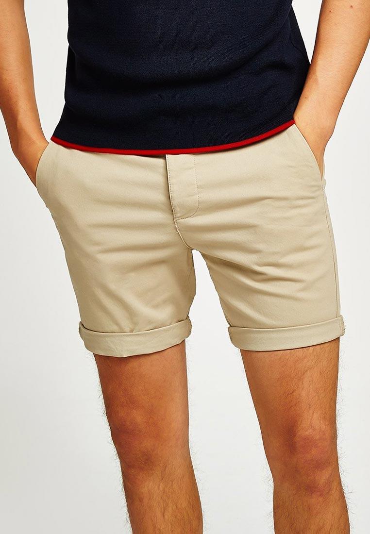 Мужские повседневные шорты Topman (Топмэн) 33S21OSTN