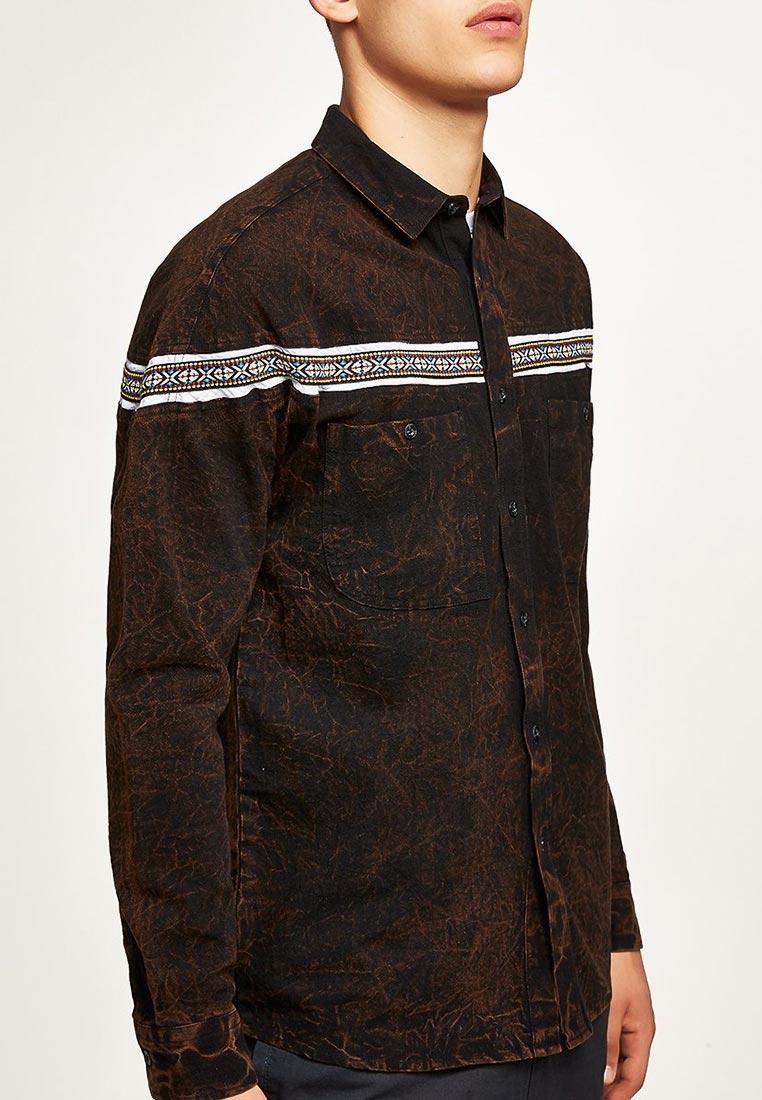 Рубашка с длинным рукавом Topman (Топмэн) 83B17PBRN