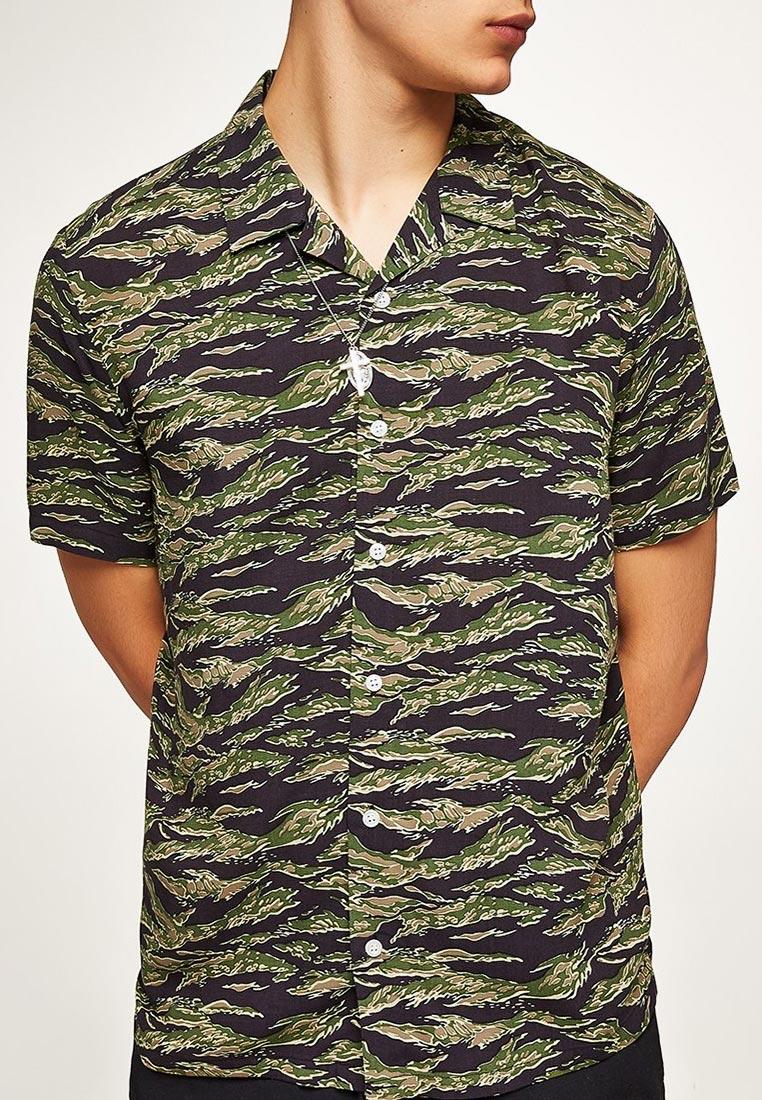Рубашка с коротким рукавом Topman (Топмэн) 83D73PKHA