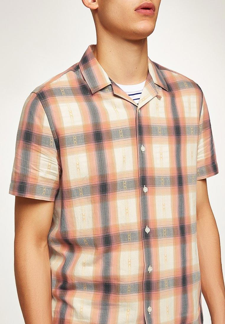 Рубашка с коротким рукавом Topman (Топмэн) 83U01PPNK