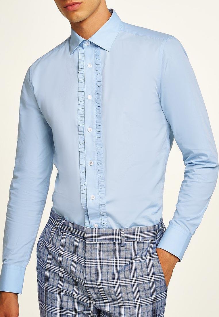 Рубашка с длинным рукавом Topman (Топмэн) 84L29PLBL