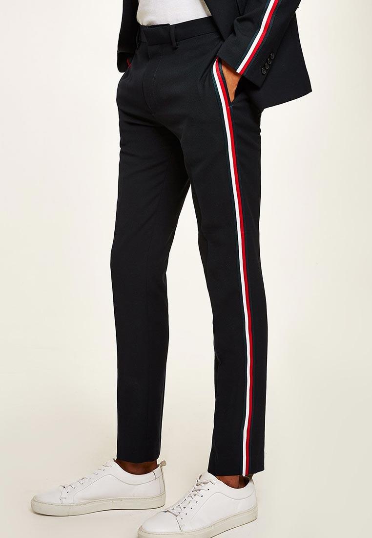 Мужские зауженные брюки Topman (Топмэн) 87T33QNAV