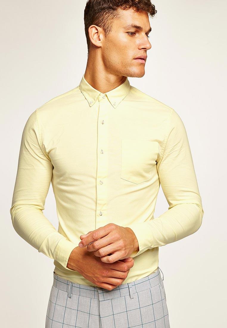 Рубашка с длинным рукавом Topman (Топмэн) 83B18PYLW