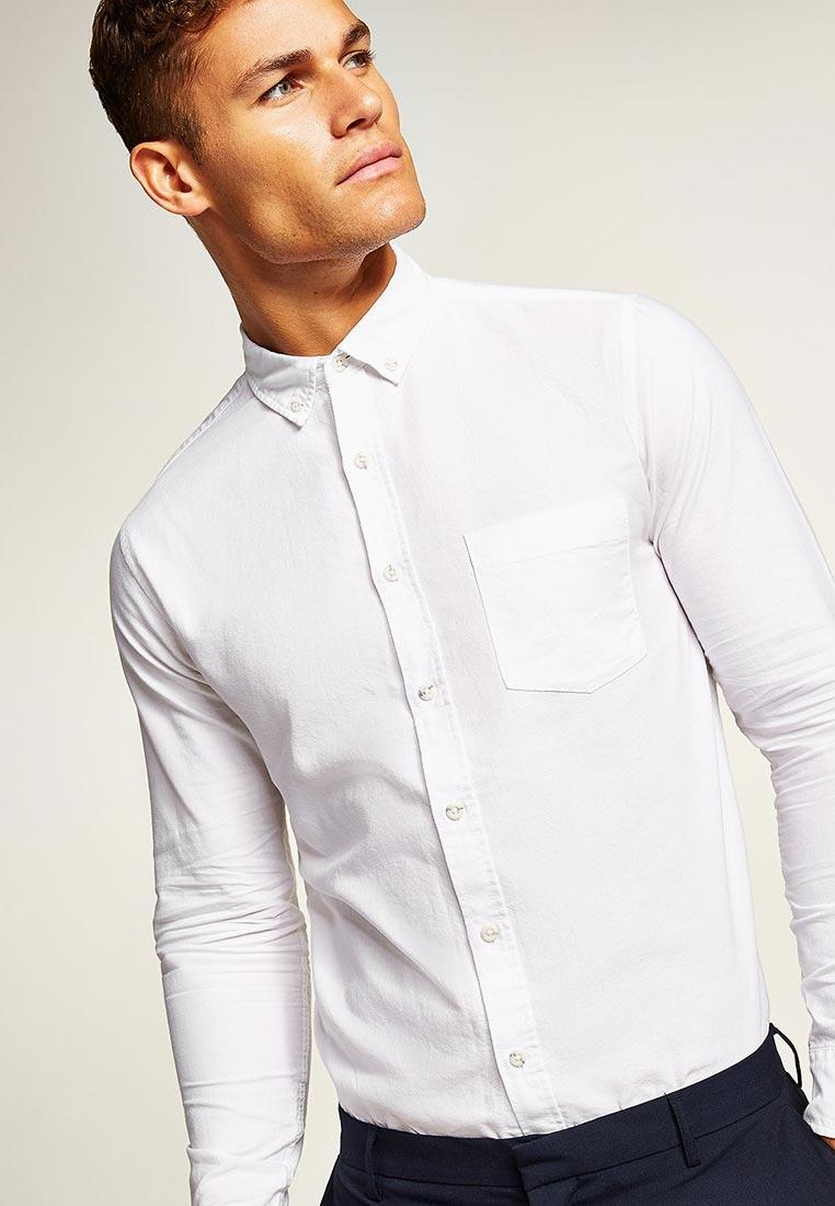 Рубашка с длинным рукавом Topman (Топмэн) 83B19PWHT