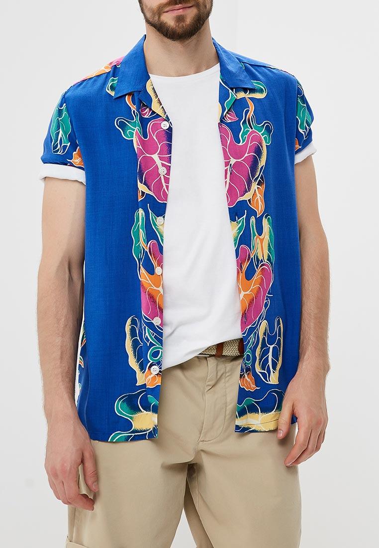 Рубашка с коротким рукавом Topman (Топмэн) 83D72PBLE