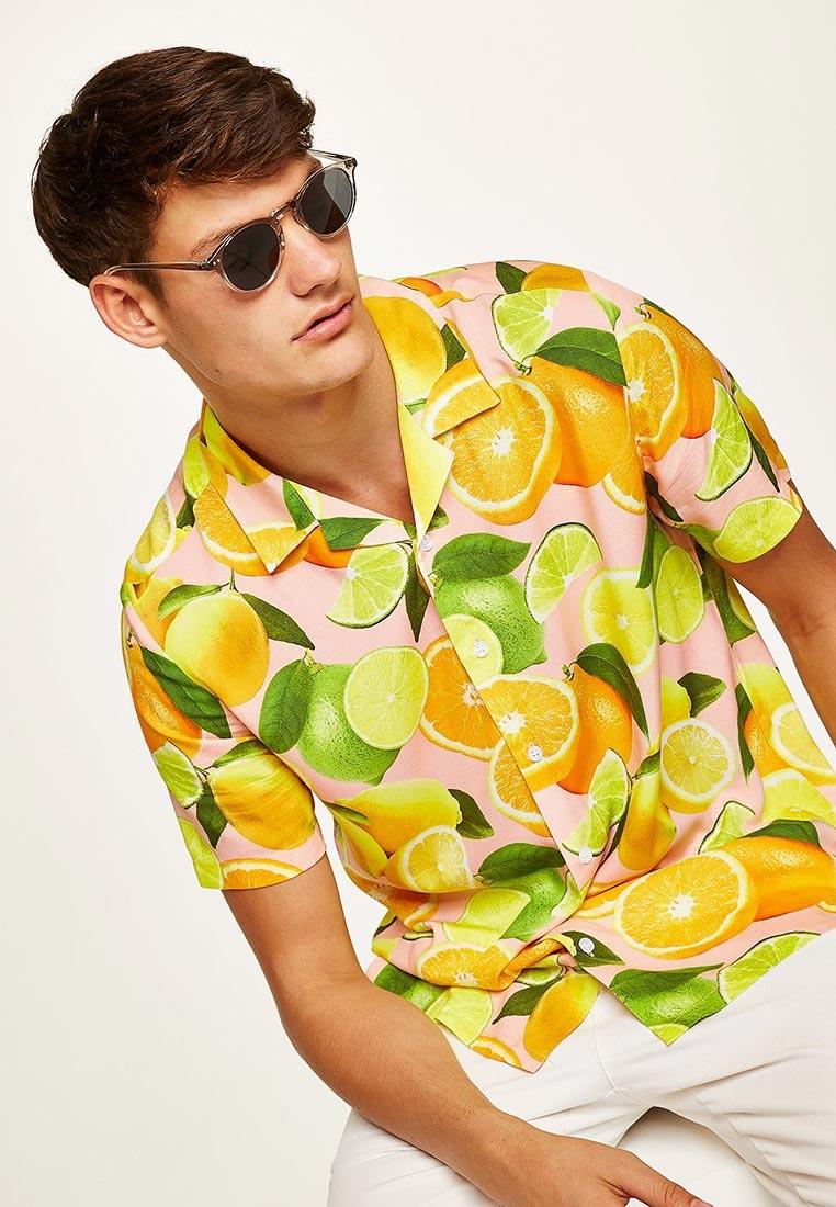 Рубашка с коротким рукавом Topman (Топмэн) 83D84PPNK