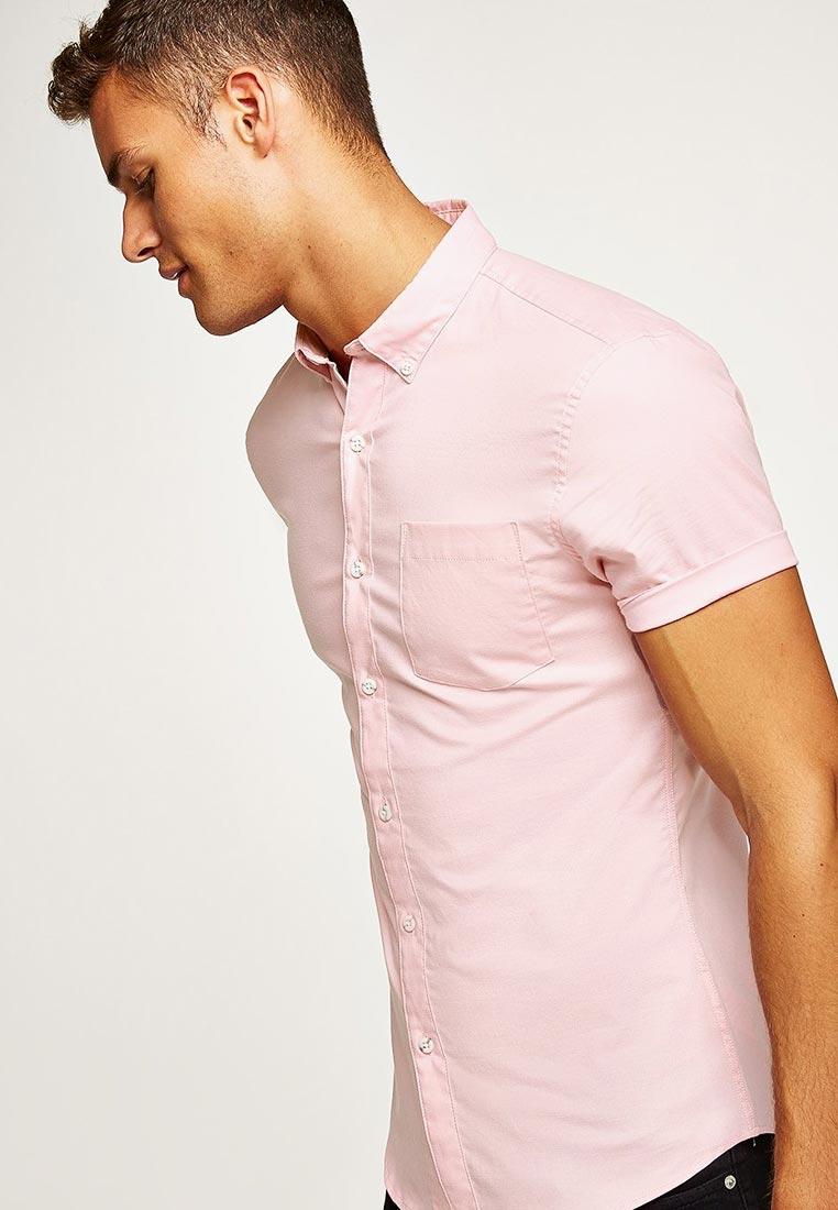 Рубашка с коротким рукавом Topman (Топмэн) 83P07PPNK